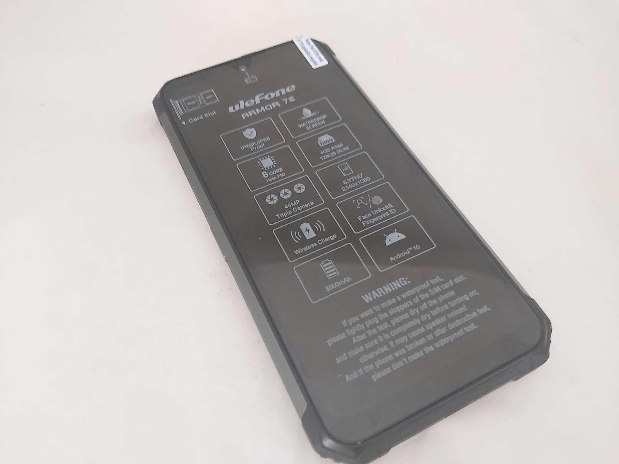 4/128 GB czarny
